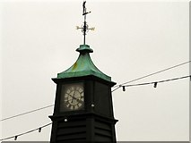SD3237 : Clock and Weather vane by Gerald England