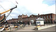 SU6200 : North Office Block, Portsmouth Dockyard by David Kemp