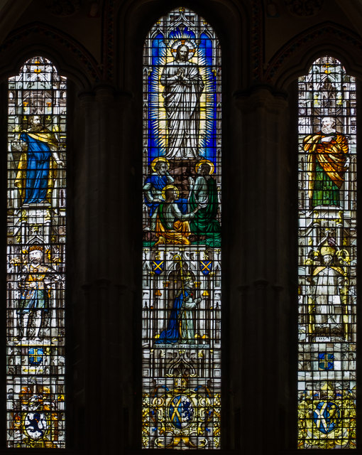 West window, Wells Cathedral