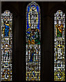 ST5545 : West window, Wells Cathedral by Julian P Guffogg
