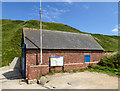 TA2372 : Lifeboat House, North Landing, Yorkshire by Christine Matthews