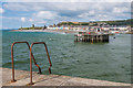 SN5780 : Entrance to Aberystwyth Harbour by Ian Capper