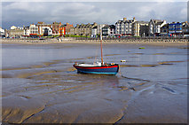 SD4364 : Wooden boat on the mud by Ian Taylor