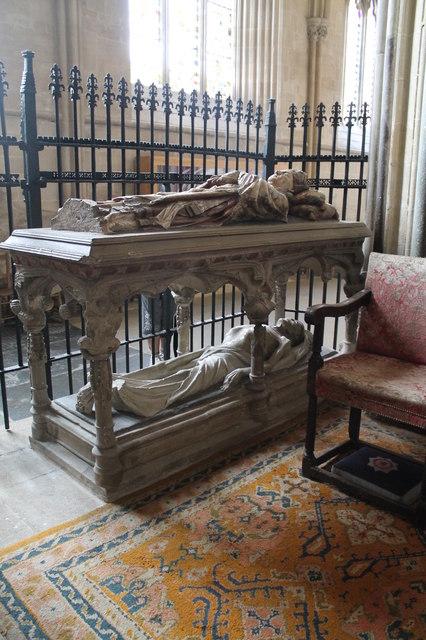 Tomb of Bishop Bekynton, Wells Cathedral