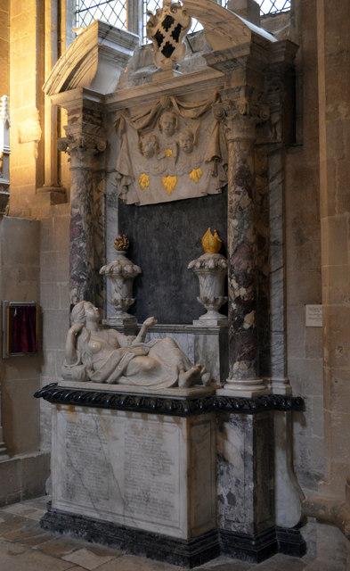 Monument to Bishop Kidder & wife