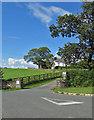 NZ3628 : Donnewell Farm entrance by Pauline E