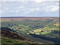 SE7297 : View to Rosedale Moor by Pauline E