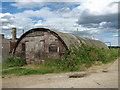 TM4488 : WW2 Nissen hut by Evelyn Simak