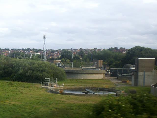 Manningtree sewage works