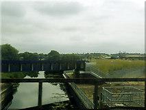 TM1444 : New railway bridge near Ipswich by Stephen Craven