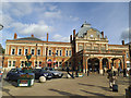 TG2308 : Norwich railway station by Stephen Craven