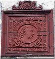 SS9092 : Queen Victoria Diamond Jubilee tablet in Blaengarw by Jaggery