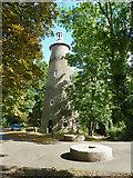 TQ1272 : Shot tower, Hounslow Powder Mills site by Robin Webster