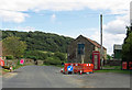 SE9391 : K6 phonebox at Langdale End by Pauline E