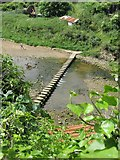 NZ7818 : Staithes Beck stepping stones by Mike Kirby