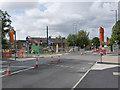 SK5738 : Robin Hood Way tramway crossing by Alan Murray-Rust