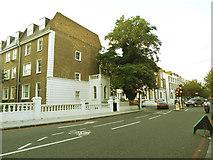 TQ2479 : Outside cycle lane by Stephen Craven