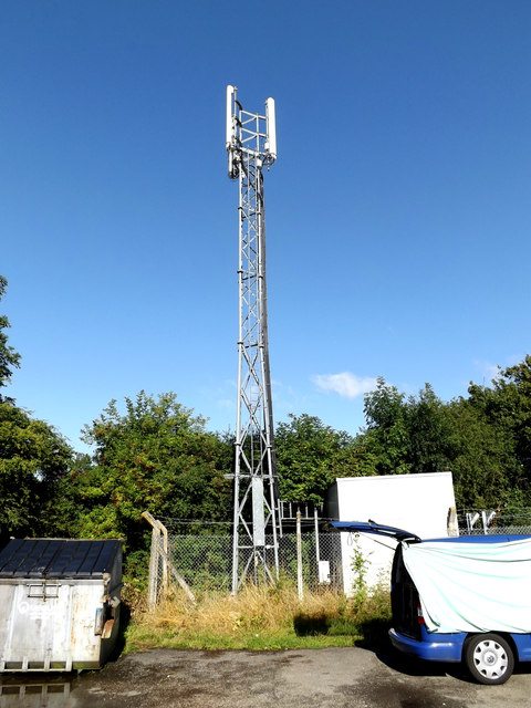 Telecommunications Mast at Bedford Athletic RUFC