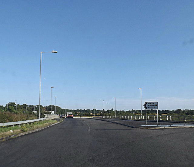 A4280 Water End, Renhold