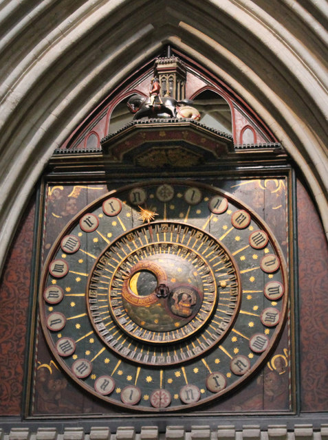 Medieval Clock, Wells Cathedral
