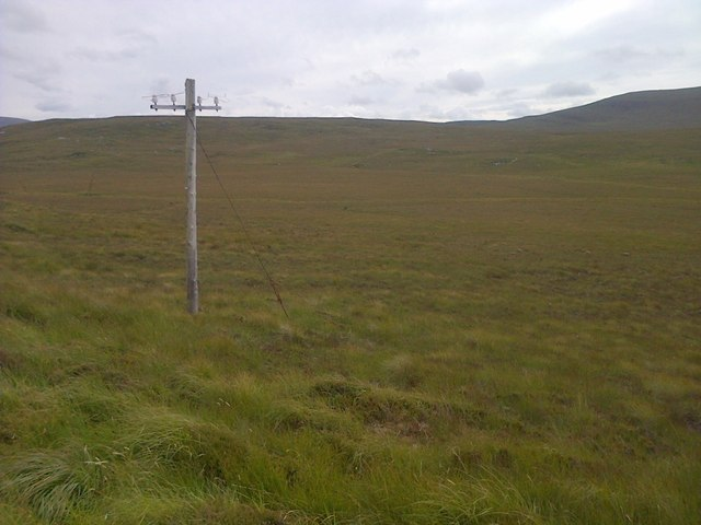 Disused Telephone Post