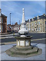 NZ3671 : Drinking water fountain, Beverley Terrace, NE30 by Mike Quinn