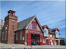 NZ3671 : RNLI Lifeboat Station, Cullercoats Bay by Mike Quinn