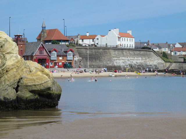 Cliffs at Cullercoats Bay