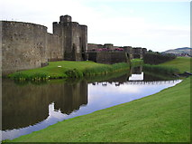 ST1587 : Caerphilly Castle by Chris Andrews