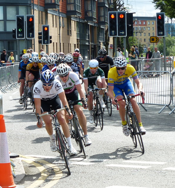 Leicester Castle Classic cycle race
