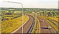 TQ4956 : Southward on A21 (M) Sevenoaks-Tonbridge by-pass), 1983 by Ben Brooksbank
