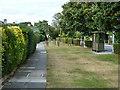 TQ1370 : Wide verge, Uxbridge Road by Robin Webster