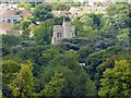 SP9211 : SS Peter & Paul Church tower, Tring from Tring Park by Rob Farrow