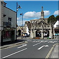 ST9387 : Northern end of High Street, Malmesbury by Jaggery
