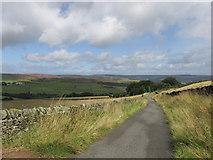 SK2078 : The Lane to Nether Bretton. by steven ruffles