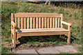 TQ2687 : Memorial Bench, Parkland, Kenwood, Hampstead, London NW3 by Christine Matthews