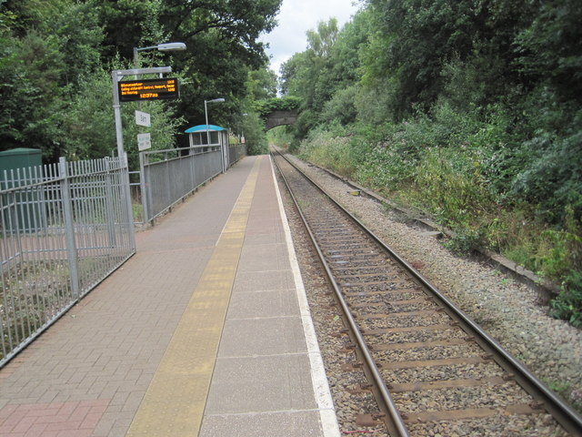 Sarn railway station, Bridgend