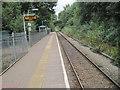 SS8983 : Sarn railway station, Bridgend by Nigel Thompson