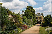 TQ1352 : The Perennial Border, Polesden Lacey by Ian Capper