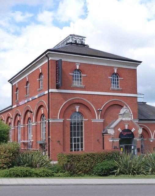 Former pumping station beam engine house, Hornsey