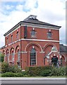 TQ3089 : Former pumping station beam engine house, Hornsey by Julian Osley