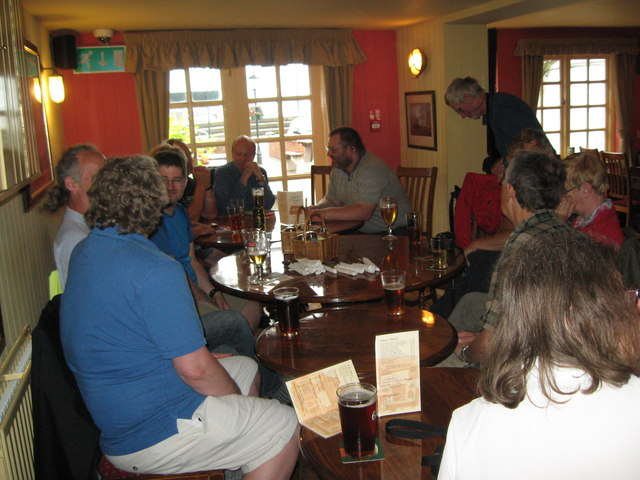Eve of AGM 2014 Geographers in Hythe 1-Hants