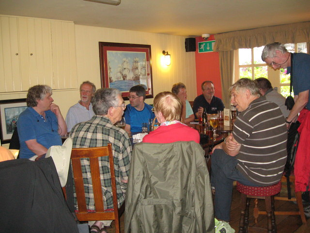 Eve of AGM 2014 Geographers in Hythe 3-Hants