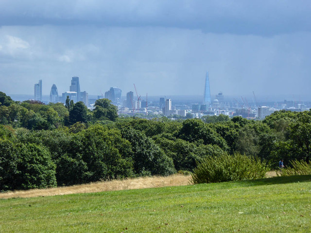 Stormy Weather over London from Kenwood, London NW3