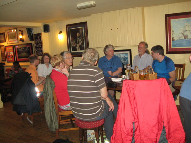 Eve of AGM 2014 Geographers in Hythe 4-Hants
