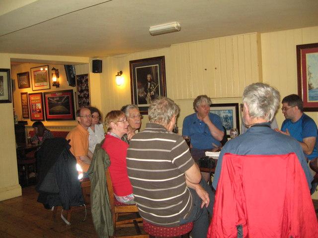 Eve of AGM 2014 Geographers in Hythe 5-Hants