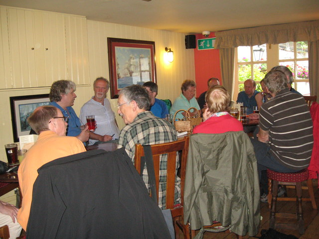 Eve of AGM 2014 Geographers in Hythe 6-Hants