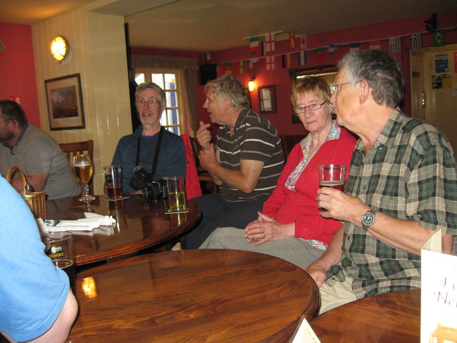 Eve of AGM 2014 Geographers in Hythe 8-Hants
