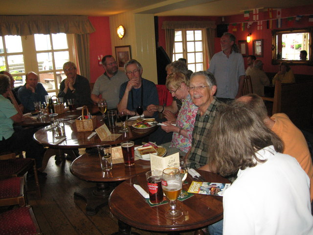 Eve of AGM 2014 Geographers in Hythe 9-Hants