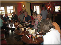 SU4208 : Eve of AGM 2014 Geographers in Hythe 9-Hants by Martin Richard Phelan
